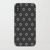 circles iPhone & iPod Cases featuring Circles by NobuDesign
