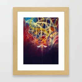 All The Roads That Might Have Been Framed Art Print