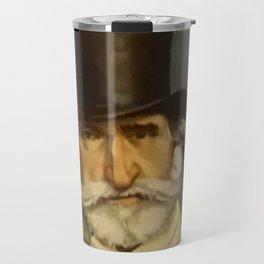 Giovanni Boldini- portrait of Verdi Travel Mug