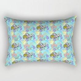 Summer Rhino Rectangular Pillow