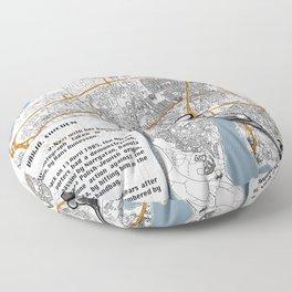 Atlas of Inspiring Protests; VÄXJO Floor Pillow
