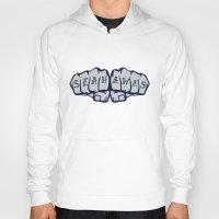 seahawks Hoodies featuring Seaknucks - Seattle Seahawks fan art by Scott Erickson