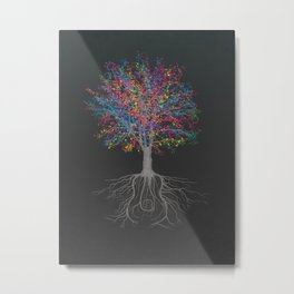 It Grows on Trees - Technicolor Metal Print
