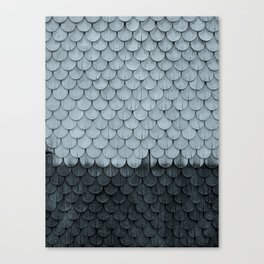 SHELTER / slate Canvas Print