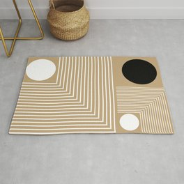Lines & Circles Rug