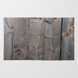 Brown Wood Panels Rug