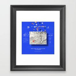 Flying to Beyond Framed Art Print