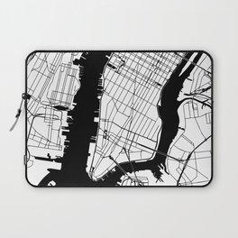 New York City Minimal Map Laptop Sleeve
