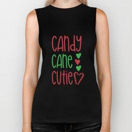 Candy Cane Cutie T-shrt Biker Tank