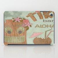aloha iPad Cases featuring Aloha by Robin Curtiss