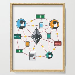 Ethereum Transactions Serving Tray