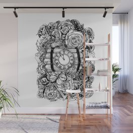 Bomb in the flowers Wall Mural
