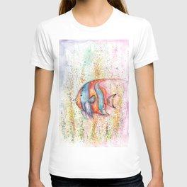 Fish Watercolor Painting T-shirt