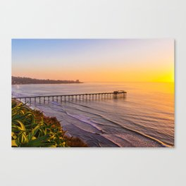 California Seaside Canvas Print