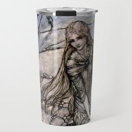 "Arthur Rackham Fairy Art from ""Undine"" Travel Mug"