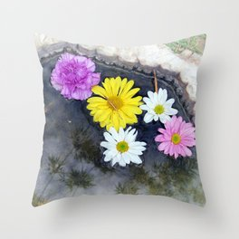 Offering Throw Pillow