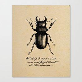 The Metamorphosis - Franz Kafka Canvas Print