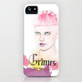 Grimes iPhone Case