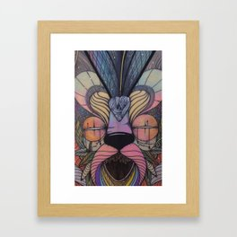 WAVE LOVER Framed Art Print