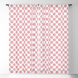 Pink Concha Pan Dulce (Mexican Sweet Bread) Blackout Curtain