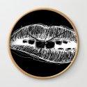 Sketchy Lips (White on Black) by sketchyrep