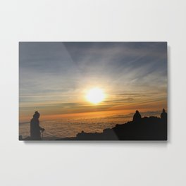 Triumph at dawn Metal Print