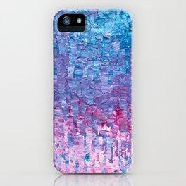 Impasto Brushstrokes iPhone Case