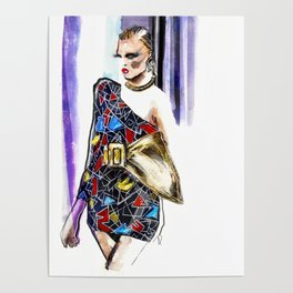 Fashion sketch Poster
