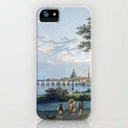 Christian Gottlieb Hammer View of Dresden iPhone Case