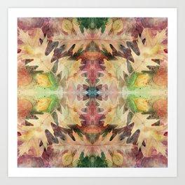 Leaf Mandala no 7 Kunstdrucke