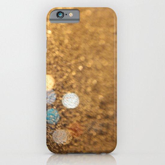 Blue Bokeh  iPhone & iPod Case