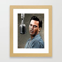 Johnny Cash Framed Art Print