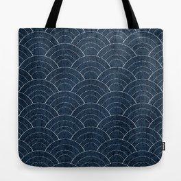 Sashiko Pattern Tote Bag