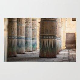 temple column Rug