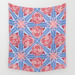 Pink Panther Pattern Wall Tapestry