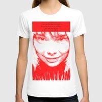 bjork T-shirts featuring BJORK by Andhika Tile