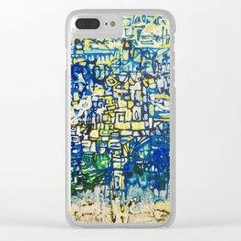 Middle Of The Ocean Clear iPhone Case