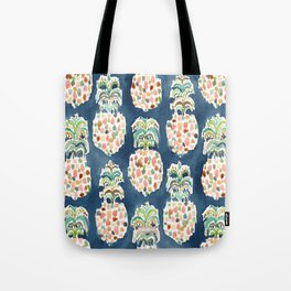 PINEAPP FOR THAT Colorful Pineapples Tote Bag