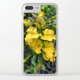 Cat's Claw Vines Clear iPhone Case