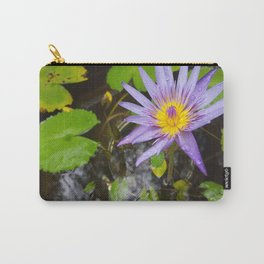 Enchanting Lotus Carry-All Pouch