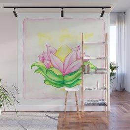 Blooming Heart Wall Mural