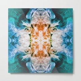 265 - Abstract smoke design Metal Print