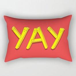 FryYAY! Rectangular Pillow