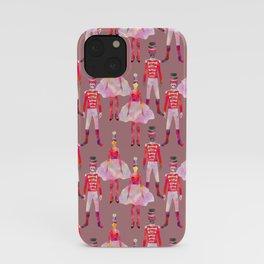 Nutcracker Ballet - Light Pink Gray iPhone Case