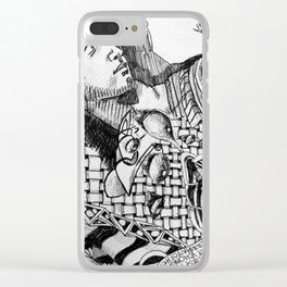 Michelangelo Clear iPhone Case