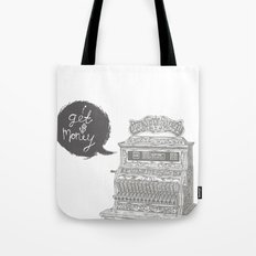 cash register Tote Bag