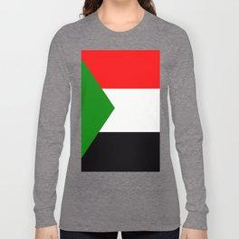 Flag of Sudan Long Sleeve T-shirt