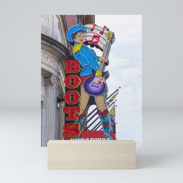 Broadway Boots - Nashville Mini Art Print