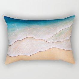 Sea, watercolor Rectangular Pillow