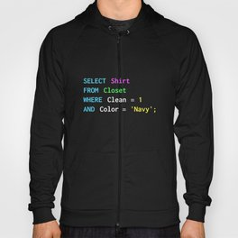 Funny SQL design for SQL programmers, DBA, and DB admins Hoody